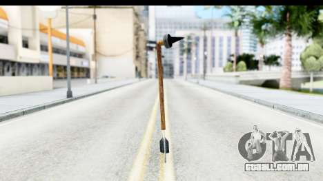 Star Wars Tusken Gaderffii para GTA San Andreas segunda tela