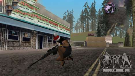 Heavysniper rifle para GTA San Andreas por diante tela