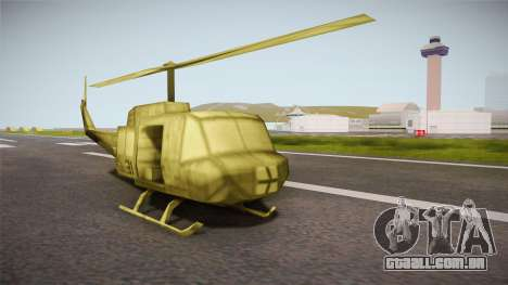 Bell UH-1H from Army Men: Serges Heroes 2 DC para GTA San Andreas