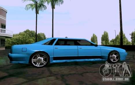 Elegy Sedan para GTA San Andreas esquerda vista