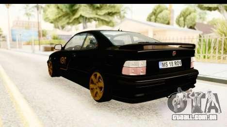 Rover 220 Kent Edition para GTA San Andreas esquerda vista