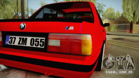 BMW M3 E30 Sedan para GTA San Andreas