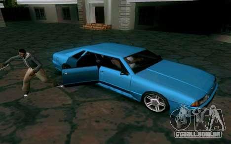 Elegy Sedan para GTA San Andreas vista traseira
