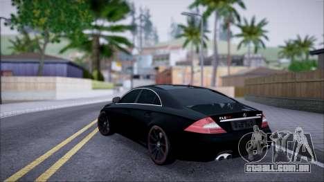 Mercedes-Benz Cls 630 para GTA San Andreas esquerda vista