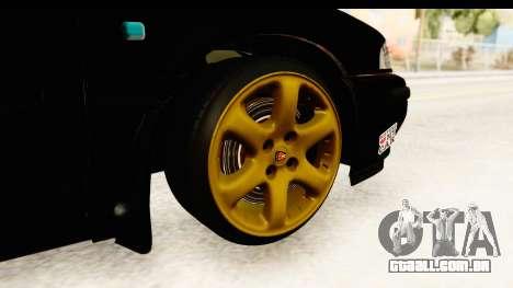 Rover 220 Kent Edition para GTA San Andreas vista traseira