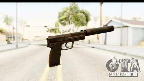 CS:GO - USP Silenced para GTA San Andreas segunda tela