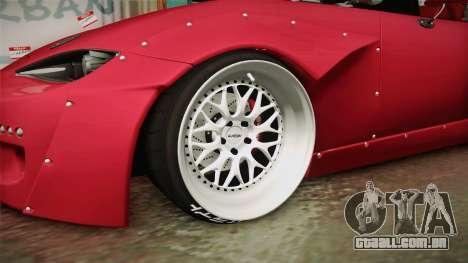 Mazda MX-5 2016 Hachiraito para GTA San Andreas vista traseira