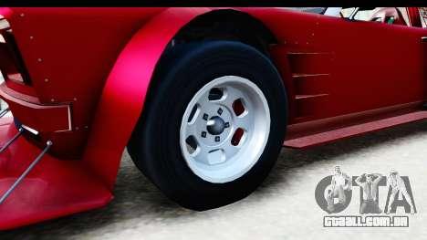 GTA 5 Declasse Tampa Drift IVF para GTA San Andreas vista traseira