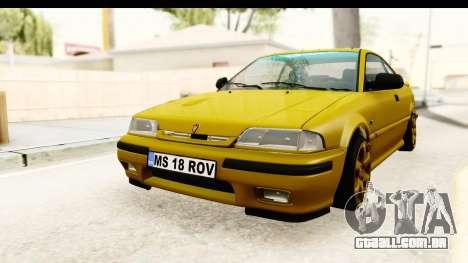 Rover 220 Gold Edition para GTA San Andreas traseira esquerda vista
