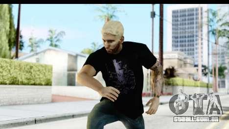 Blonde Messi para GTA San Andreas