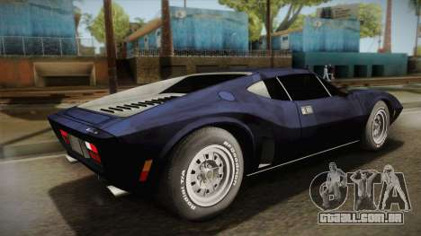 AMC AMX 3 39 1970 para GTA San Andreas esquerda vista