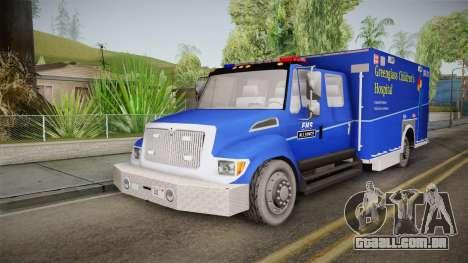 International Terrastar Ambulance 2014 para GTA San Andreas