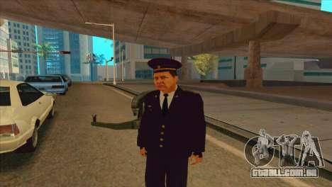 Karpov v2 para GTA San Andreas segunda tela