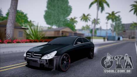 Mercedes-Benz Cls 630 para GTA San Andreas vista interior