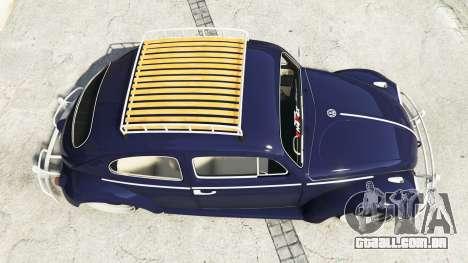 GTA 5 Volkswagen Fusca 1968 v0.9 [add-on] voltar vista