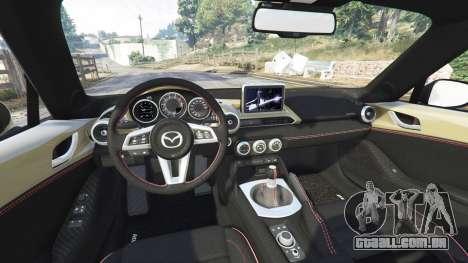 Mazda MX-5 2016 Rocket Bunny v0.1 [replace] para GTA 5