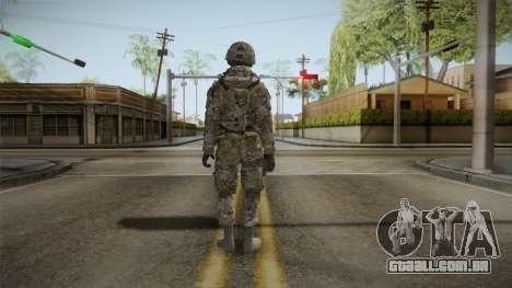 Multicam US Army 4 v2 para GTA San Andreas terceira tela