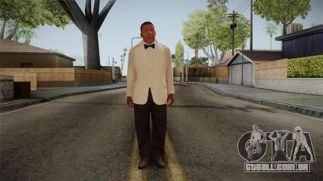 GTA 5 Franklin Tuxedo v1 para GTA San Andreas segunda tela