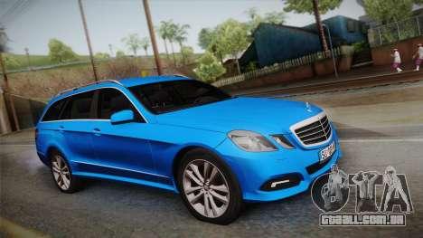 Mercedes-Benz W212 E-class para GTA San Andreas