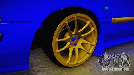 Rover 220 Bozgor Edition para GTA San Andreas vista traseira