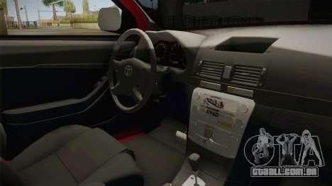Toyota Hilux 2010 Venezolana de Off Road para GTA San Andreas vista interior