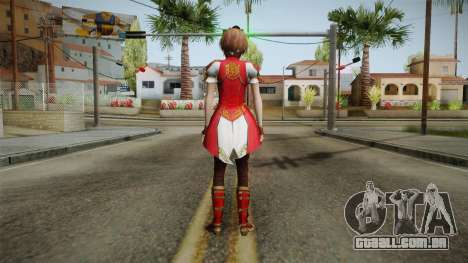 Dynasty Warriors 8 - Sun ShangXiang Remade para GTA San Andreas terceira tela