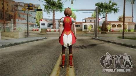 Dynasty Warriors 8 - Sun ShangXiang Remade para GTA San Andreas terceira tela