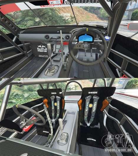GTA 5 Mazda MX-5 (ND) RADBUL Mango [replace] frente vista lateral direita