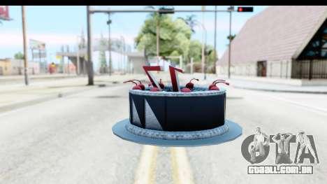 Han Farhan Cake Grenade para GTA San Andreas segunda tela