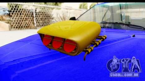 Rover 220 Kent Edition de Haur para GTA San Andreas vista interior