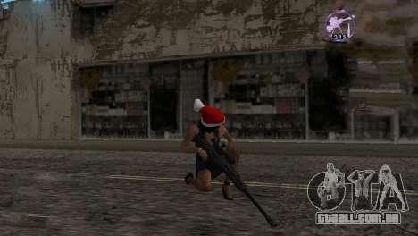 Heavysniper rifle para GTA San Andreas segunda tela