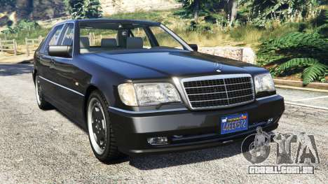 Mercedes-Benz W140 AMG [replace] para GTA 5