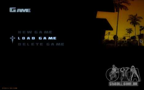 New Fonts para GTA San Andreas terceira tela