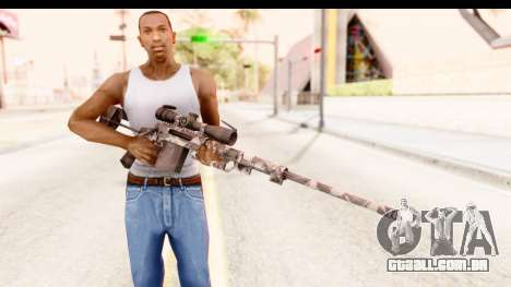 Cheytac M200 Intervention Skull para GTA San Andreas terceira tela