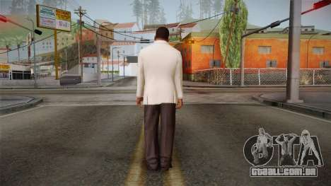 GTA 5 Franklin Tuxedo v1 para GTA San Andreas terceira tela