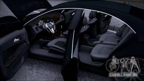 Mercedes-Benz Cls 630 para vista lateral GTA San Andreas