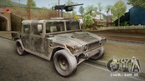 HMMWV Humvee Woodland para GTA San Andreas