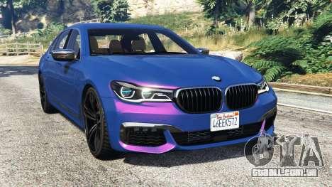 BMW 750i xDrive M Sport (G11) [add-on] para GTA 5