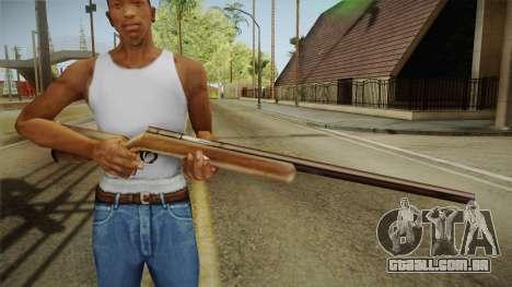 Silent Hill 2 - Rifle para GTA San Andreas terceira tela