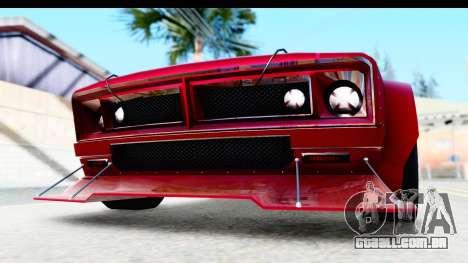 GTA 5 Declasse Tampa Drift IVF para GTA San Andreas vista superior
