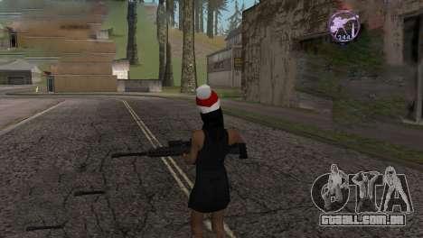 Heavysniper rifle para GTA San Andreas quinto tela