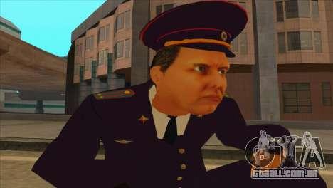 Karpov v2 para GTA San Andreas quinto tela