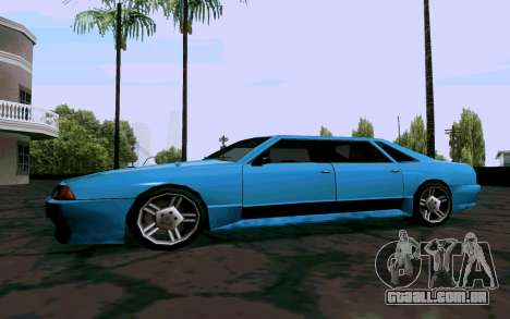 Elegy Sedan para GTA San Andreas traseira esquerda vista