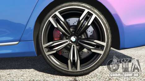 GTA 5 BMW 750i xDrive M Sport (G11) [add-on] traseira direita vista lateral