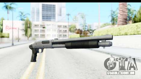 Tactical Mossberg 590A1 Chrome v1 para GTA San Andreas