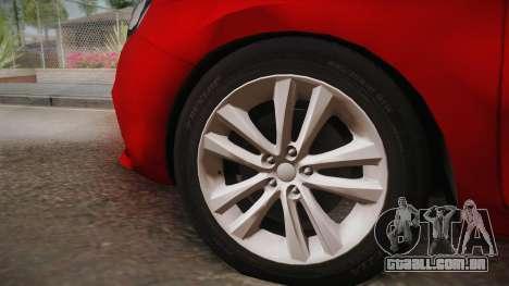 Lada Vesta Sedan para GTA San Andreas traseira esquerda vista