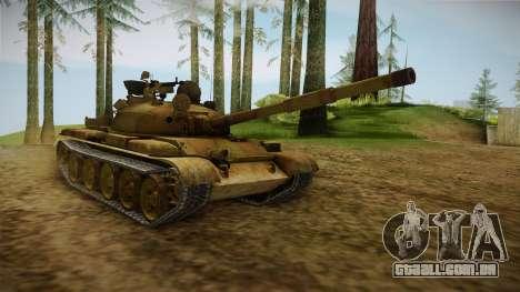 T-62 Desert Camo v3 para GTA San Andreas