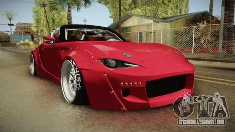 Mazda MX-5 2016 Hachiraito para GTA San Andreas