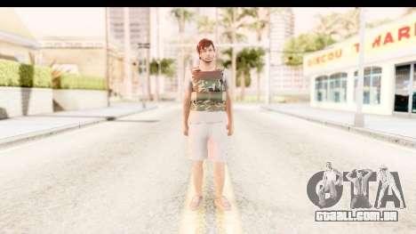 GTA 5 Random Skin 5 para GTA San Andreas segunda tela