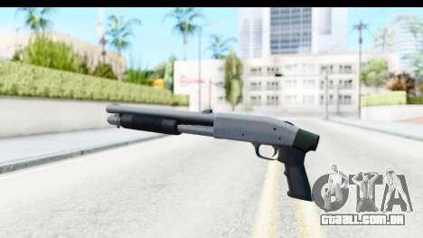 Tactical Mossberg 590A1 Chrome v1 para GTA San Andreas segunda tela